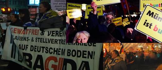 Pediga-Demo und Gegen-Demo in München