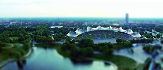 Olympiastadion , © Das Olympiastadion aus der Luft