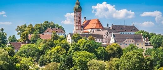 © Das Kloster Andechs – ein bekannter Wallfahrsort.