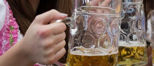 bier in Maßkrügen, © Münchner Brauer
