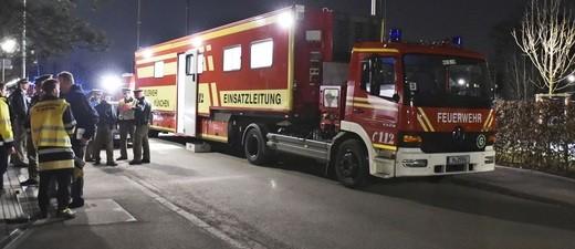 Berufsfeuerwehr München am Schnepfenweg im Einsatz, © Branddirektion München