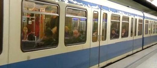 U-Bahn die in die Station einfährt, © Symbolfoto