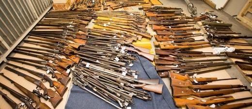 Grenzüberschreitender Waffenhandel, © Bayerisches Landeskriminalamt
