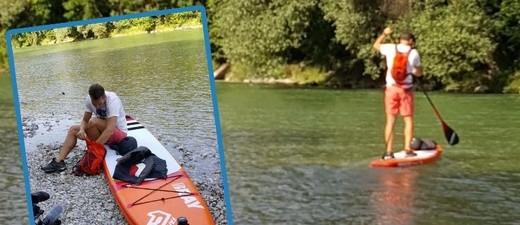 © Pascal Rösler will auf der Isar von München bis ins Donaudelta in Rumänien paddeln.