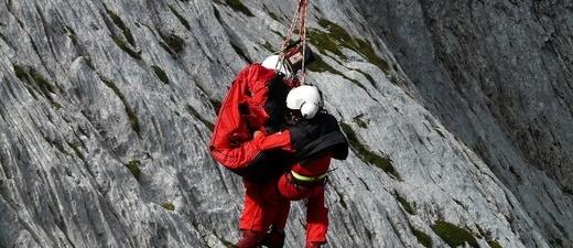 Bergunfall - Bergrettung der Bergwacht, © Symbolfoto