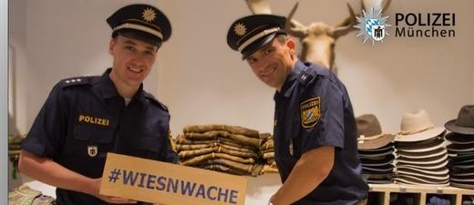 © Die Wiesn-Wache ist zum Oktoberfest vorbereitet - Foto: Polizei München