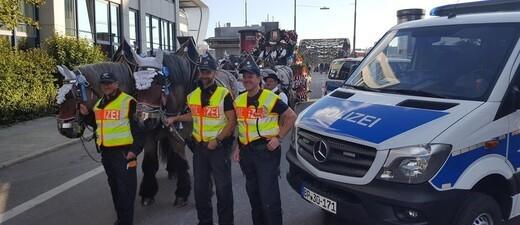 Die Bundespolizei im Oktoberfest-Einsatz, © Foto: Bundespolizei