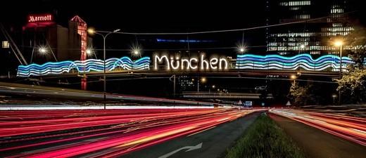 © In München findet wieder die Lichtwoche statt - Foto:  Guerilla Lighting