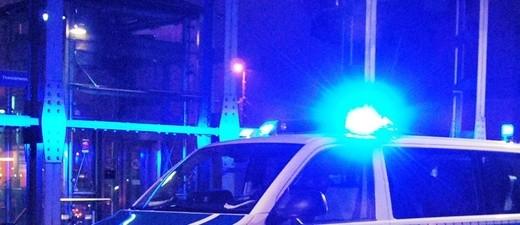 Blaulicht Polizei im Einsatz
