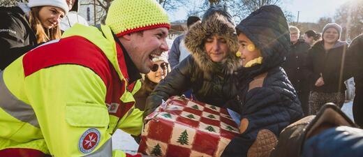 Weihnachtstrucker Die Johanniter, © Foto: Tobias Grosser