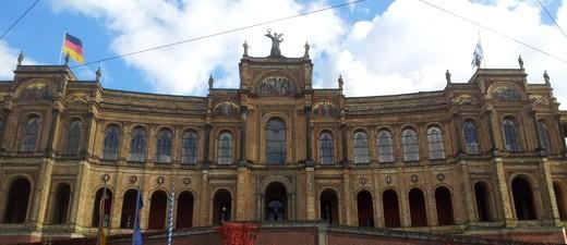 Der Bayerische Landtag von außen