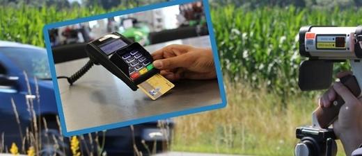 Blitzer mit Ec Karte bezahlen