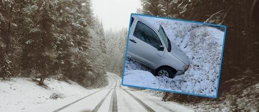 Glätte auf den Straßen und erste Winter-Unfälle, © Symbolbild