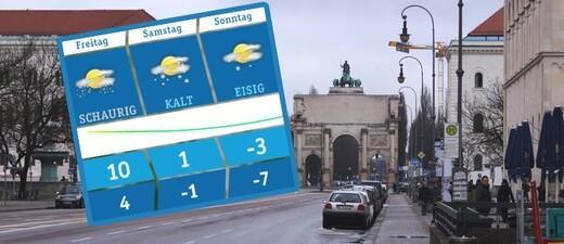 Aktuelle Wettervorhersage München