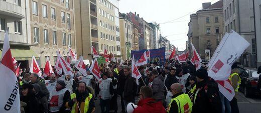 Streik im öffentlichen Dienst verdi aktuell