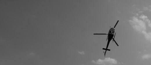 Hubschrauber im Flug, © Symbolfoto