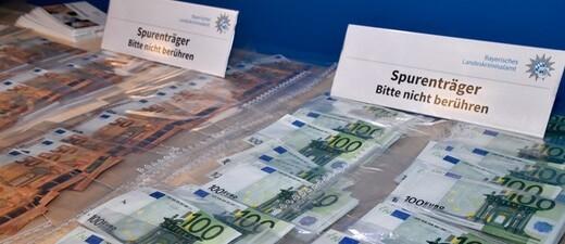 100.00 Euro: Falschgeld-Sicherstellung
