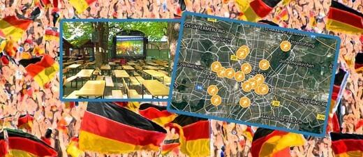 Public Viewing zur Fußball-WM 2018 in München  - inklusive Karte