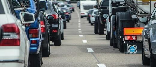Stau auf der Autobahn, © Symbolfoto