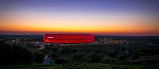 Die Münchner Allianz Arena - Spielstätte des FC Bayern, © Foto:  fotolia.com, © fujipics
