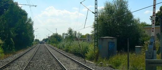 Ein Bauarbeiter hat eine Oberleitung der S-Bahn beschädigt., © Bundespolizei