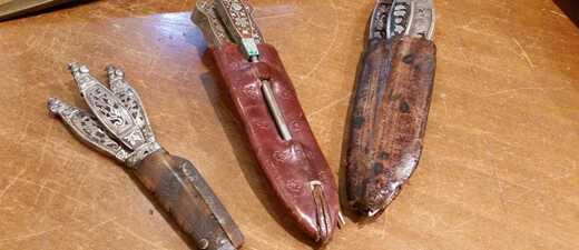 Auf dem Dachauer Volksfest sind Trachtenmesser dieses Jahr verboten.