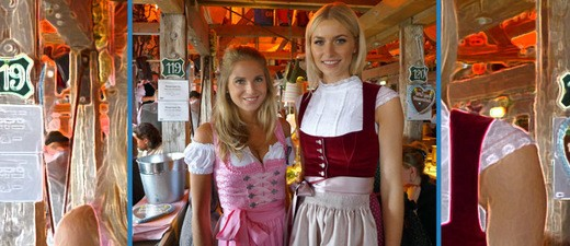 Dirndl-Trends 2018 zur Wiesn / Oktoberfest