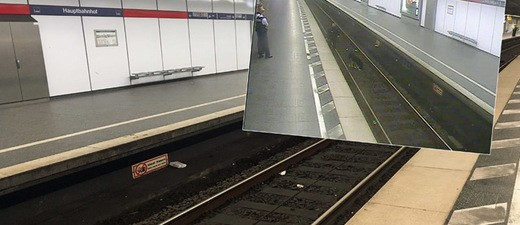 Verdächtiges Päckchen am Hauptbahnhof in München, © Bilder: Bundespolizei