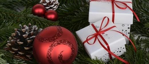 Geschenk, Christbaumkugel