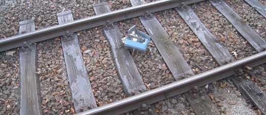 Vandalismus Isartalbahnhof, © Bundespolizei