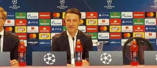 Nico Kovac bei der FC-Bayern Pressekonferenz