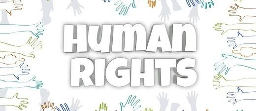 Grafik zum Thema Menschenrechte