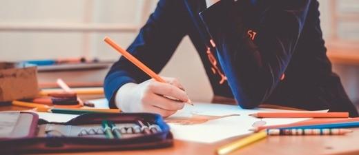 Kinder lernen in der Schule, © Symbolfoto