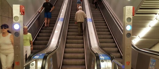 rolltreppe, ubahn, mvv, © Symbolbild