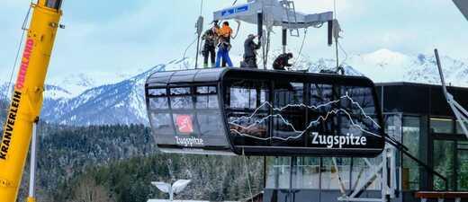 neue Gondel Zugspitzbahn, © Robert Kukuljan