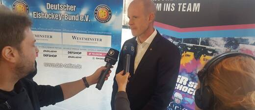 Toni Söderholm beim Interview
