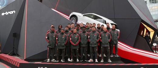 FC Bayern testet neuen Audi e-tron, © AUDI AG / 2019 Getty Images
