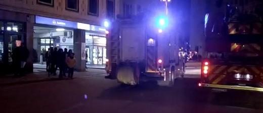 Der Feuerwehreinsatz am Rindermarkt