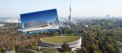 so soll die neue Sportarena aussehen-, © Bilder: 3XN Architects & MIR / Red Bull Content Pool