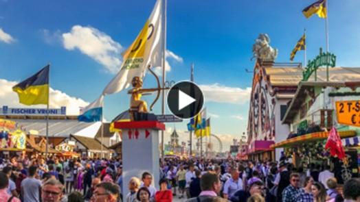 Wiesn: Hier gehts zum WebCam-Live-Stream auf die Theresienwiese und Wirtsbudenstraße auf dem Oktoberfest