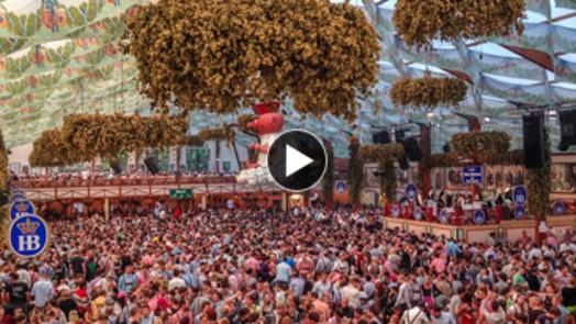 Wiesn Webcam im Hofbräu Festzelt Oktoberfest 2015