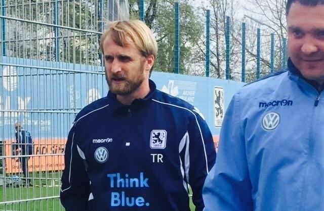 Daniel Bierofka auf dem Gelände der Sechziger