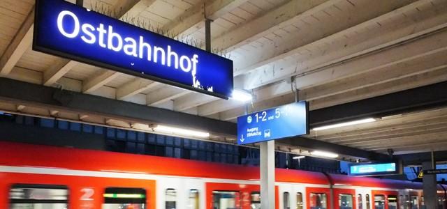 Bahnhof in München - Auch am Ostbahnhof gibt es immer wieder Schlägerein