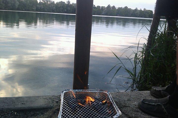 Grillen am See
