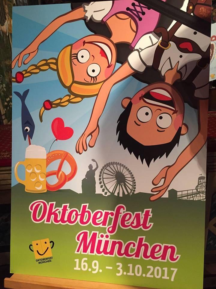 © Dieses Wiesn-Plakat für Oktoberfest 2017 belegte Platz 2