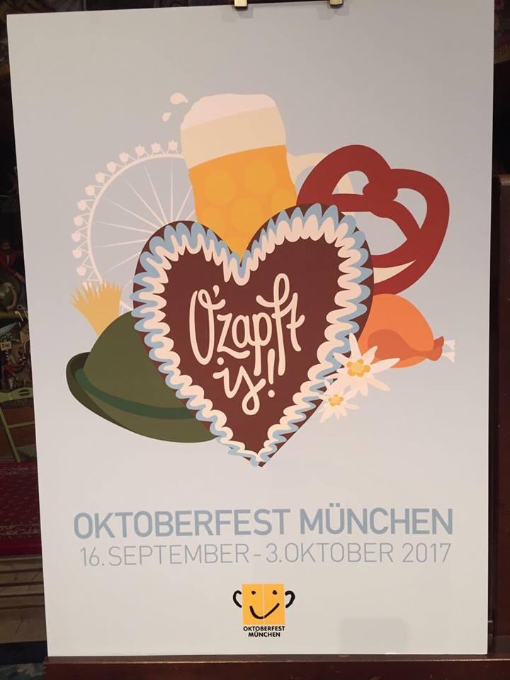 © Dieses Wiesn-Plakat belegte den Platz 1 und wird das offizielle Motiv fürs Oktoberfest 2017