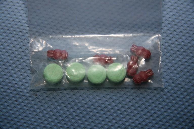 bunte ecstasy pillen waldkraiburg, © Foto: Polizei