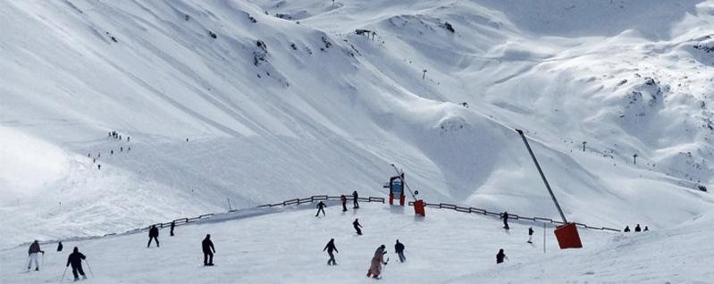 Berge Ski Wandern Schnee