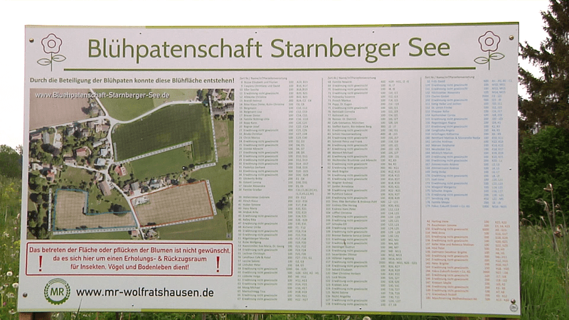 Blühpatenschaften in Starnberg
