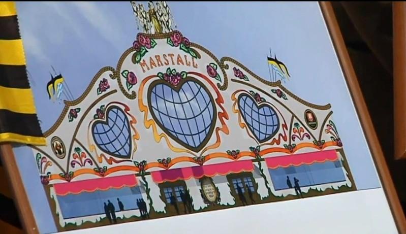 © münchen.tv: Das neue Marstall Festzelt auf dem Oktoberfest